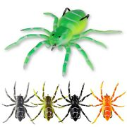Spider Soft Bait 5cm 7g Silicone Bait Artificial Lures Weedless Realistic Design