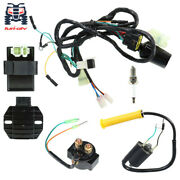 For Honda Sportrax 400 Trx400ex Cdi Ignition Coil Spark Plug Wire Harness Assy