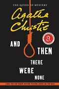 And Then There Were None Paperback Agatha Christie