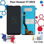 Lcd Andeacutecran Pour Huawei Y7 2019 Tactile Outils Assembly Replacement Display Noir