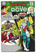 Silver Age Hawk And The Dove 1 1968 High Grade 2nd App. Teen Titans Tv Hbo Max