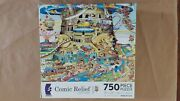 Ceaco Puzzle, Tower Of Babel, 750 Pieces Missing 2 Pieces