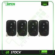 4 Keyless Entry Remote Fob For 2010 2012 2013 2014 2015 Lexus Rx350 Hyq14acx