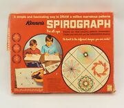 Vintage Kennerand039s Spirograph No 401 Red Tray Missing Pens