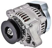 Jegs 10136 1-wire Micro Mini Gm Alternator 55 Amp 16-volt Single One Groove V-be