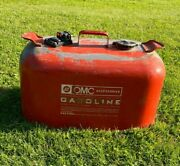 Vintage Johnson Outboard Motor Boat Gas Can Omc 6 Gallon Fuel Tank Look