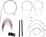 Burly B30-1081 Braided Stainless Steel Cable/brake Line Kit