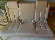 Two 2003 Oldsmobile Silhouette Beige Leather Rear Bench Seats, Perfect Condition