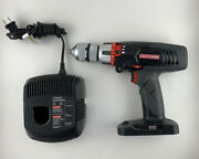 """Craftsman C3 19.2v Model 315.115430 1/2"""" Hammer Drill And Charger"""