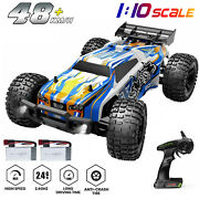 Deerc Rc Cars 2/4wd Racing 2.4ghz High Speed Monster Trucks Remote Control Toys
