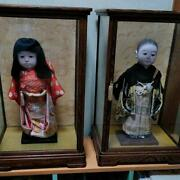Vintage Japanese Ichimatsu Doll Two Sets Of Boys And Girls Antique Japanese M