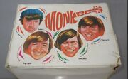 Vintage 1967 Monkees Vinyl Lunch Box With Thermos King-seely Thermos Co Rare