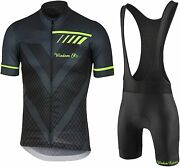 Menand039s Cycling Jersey Set Short Sleeve Road Bicycle Clothing Shirts Shorts With 3