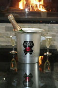 Vintage Moet And Chandon Champagne French Ice Bucket Cooler Made In France
