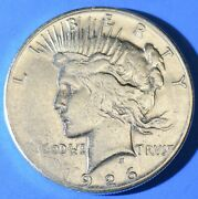 1926-s Peace Dollar 90 Silver Us Coins Us Paper Money