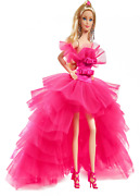 Barbie Signature Pink Collection Doll Silkstone Barbie Doll In Tulle Gown