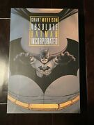 Absolute Batman Incorporated Grant Morrison New And Sealed Robin Batwing Batmen
