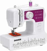 Dulees Mini Sewing Machine For Beginners And Kids, Portable Household Small