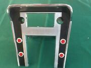 1967 Ford Mustang Console Radio Bezel Modified For Lights 67 Original Part