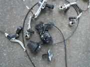 Shimano Revo Shift Tourney Sl-rs25 Twist Grip Shifter 7 Speed And Left-right Brake