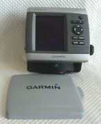 Garmin Gpsmap 421 Chart Plotter Gps Navigation Display Unit W/ Mount And Cover