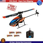 New Eachine E119 2.4g 4ch 6-axis Gyro Flybarless Rc Helicopter Rtf Xmas Gift