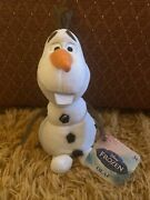 Disney Frozen 9 Olaf Snowman Plush Toy Doll New With Tags