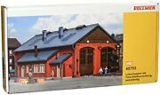 Vollmer 45753 Two Stall Engine House Ho Scale Model Structure