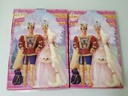 Barbie Rapunzel And Ken Combo Lot Set Of 2 Vintage Collectible New In Box