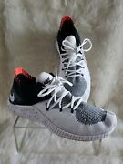 Nike Womens Free Trainer Flyknit 3 942887-100 White Black Running Shoes Size 9
