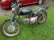 1967 67 Harley Davidson Sprint 250 Ss Rolling Parts Bike Engine Locked Up As Is