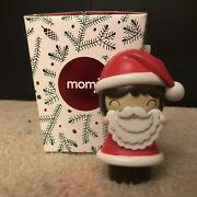 Retired Vintage Rare Momiji Doll 'santa' With Secret Scroll/brand New With Box