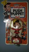 Kelloggand039s Push Puppet Pop Toys Rice Krispies Snap Crackle And Pop
