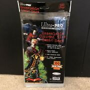 Ultra Pro Comic Series Resealable Comic Bags/opened/50 Bags