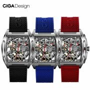 Ciga Design Z Series Watch Barrel Type Double-sided Hollow Automatic Skeleton Me
