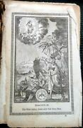 1857 Antique German Book Prayer/song Owned Rohrer Phila Pa Leather