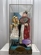 Disney Designer Collection Alice And The Queen Of Hearts Display Sample