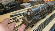 Lionel 259e 2-4-2 Steam Locomotive And Whistle Tender Runs, Lights, Whistles