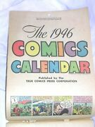 1946 Comics Calender A Comic For Every Day Of The Year Vintage Color True