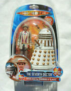 Doctor Who The Seventh Doctor And Imperial Dalek Figures Remembrance Of The Daleks