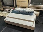 Apple A9m0320 Imagewriter Ii Printer With Serial And Power Cables + 3 Ink Ribbons