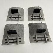 Lionel Fastrack Earthen Bumpers 4 2016 6-12059