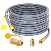 Sumnew 36 Feet 1/2 Inch Id Natural Gas Hose Adapter For Grill Patio Heater...