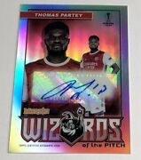 2020 Topps Chrome Merlin Thomas Partey Wizards Of The Pitch Auto D 006/100