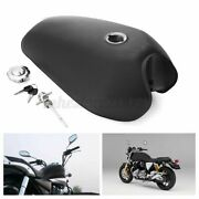 2.4 Gallon Motorcycle Fuel Gas Tank Cover Kit For Honda Cg125 Cafe Racer Matte