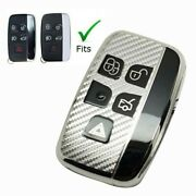 Key Chain For Land Rover Range Rover Jaguar Car Case Key Fob Cover Silver New