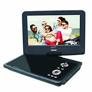 Supersonic Sc-259 Portable Dvd Player 9 And Digital Tv Usb And Sd Inputs Wit...