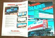 Lionel Trains 1992 Book 2- 0 027 S Stand. Large Scale Gauge Trains Access.