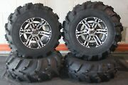 Outlander 400 25 Mud 589 Atv Tire And Ss212 M Wheel Kit Made In Usa Can2ca