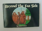 Beyond The Far Side By Gary Larson Signed /autographed By Gary Larson 1983